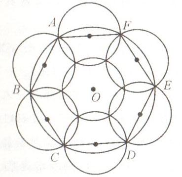 圆花坛立面图手绘效果图